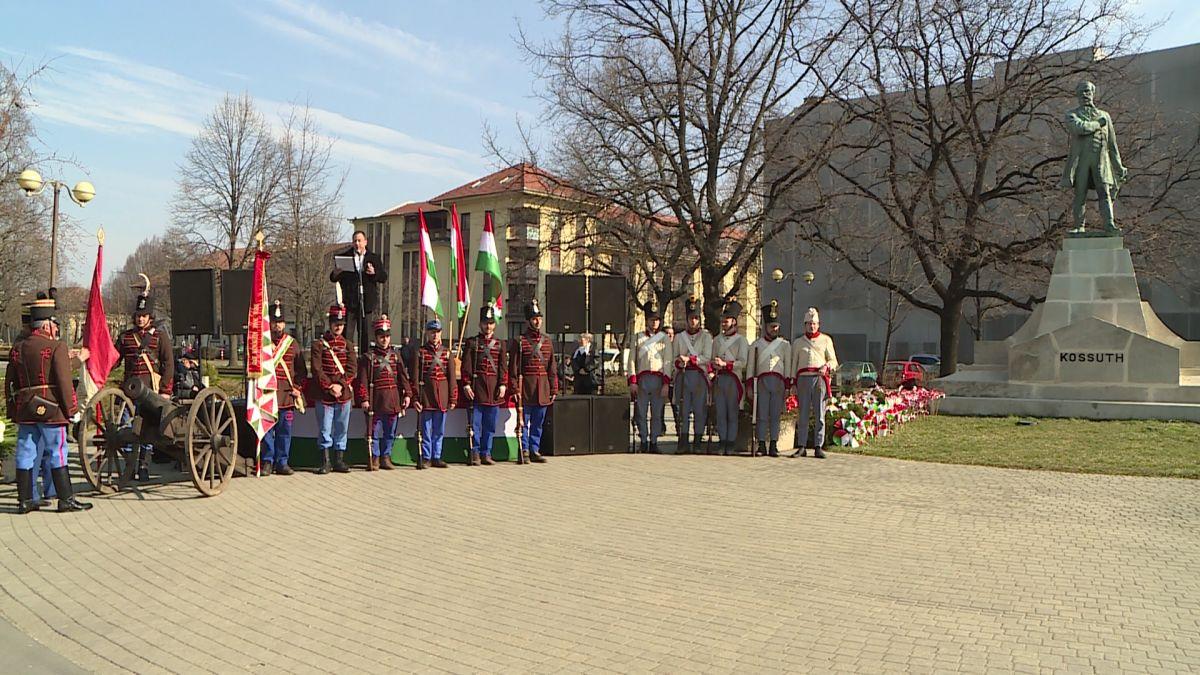 Békéscsabai 1848-as ünnepség 2017.03.15.