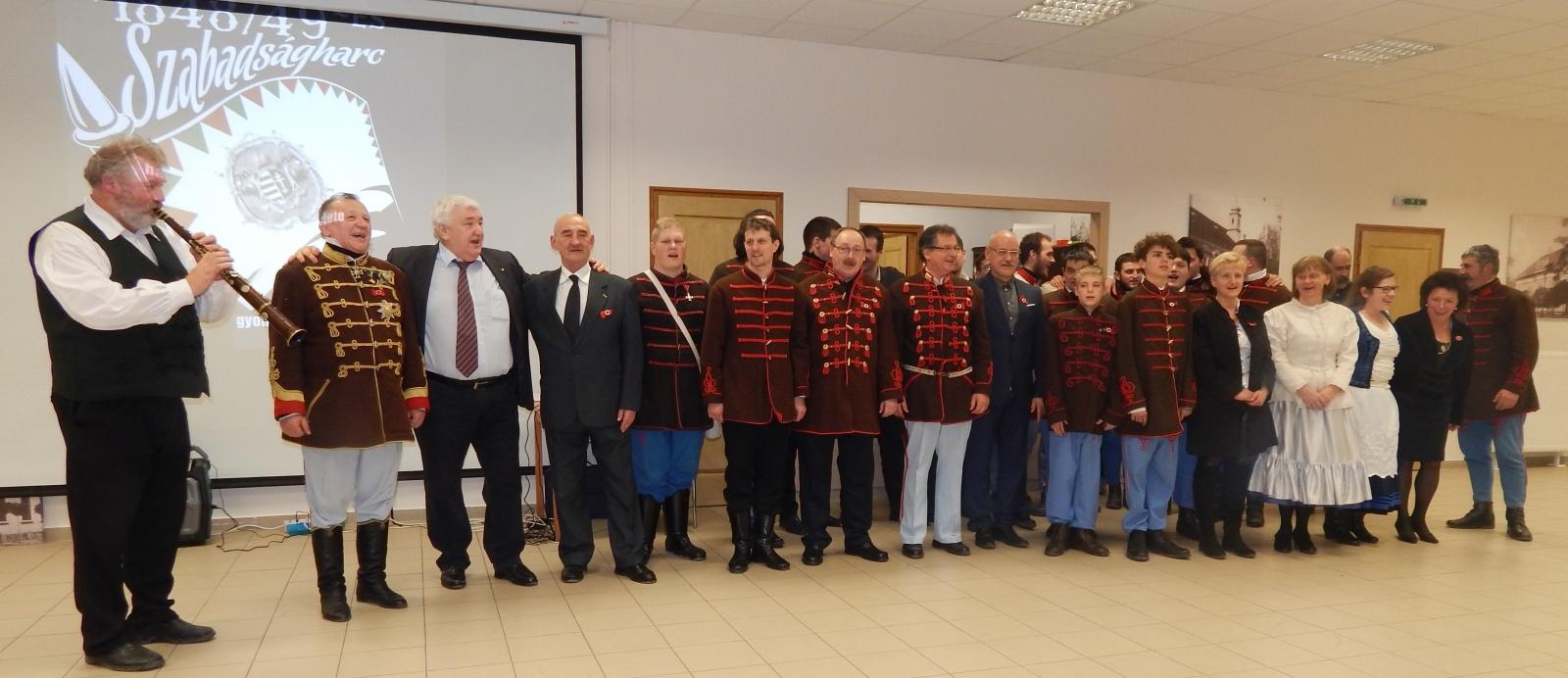 Szegedi III. Honvéd zászlóalj 20. jubileumi ünnepsége - 2018.02.24.