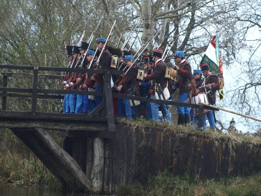Tápióbicskei csata 2011.04.04.