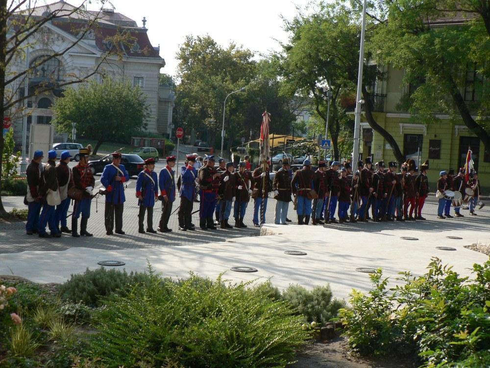 Honvédgyalogság alaki kiképzés Kecskeméten - 2011. augusztus 27.