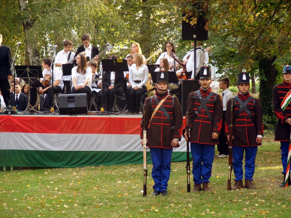 2011. október 6. Aradi vértanuk megemlékezés – Békéscsaba