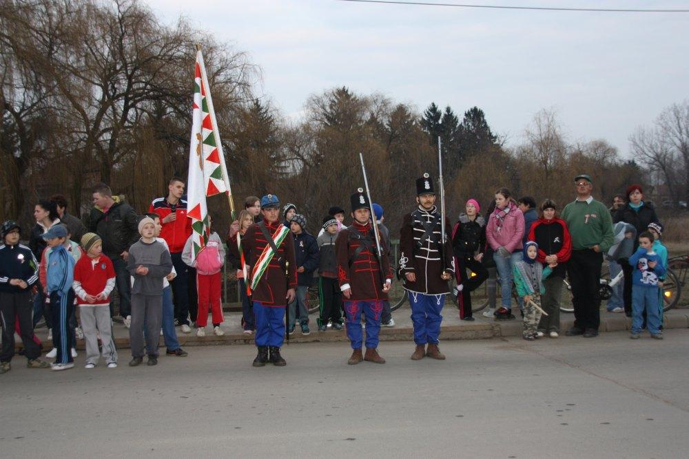 Vésztői 1848-49-es ünnepség 2012. március 14.
