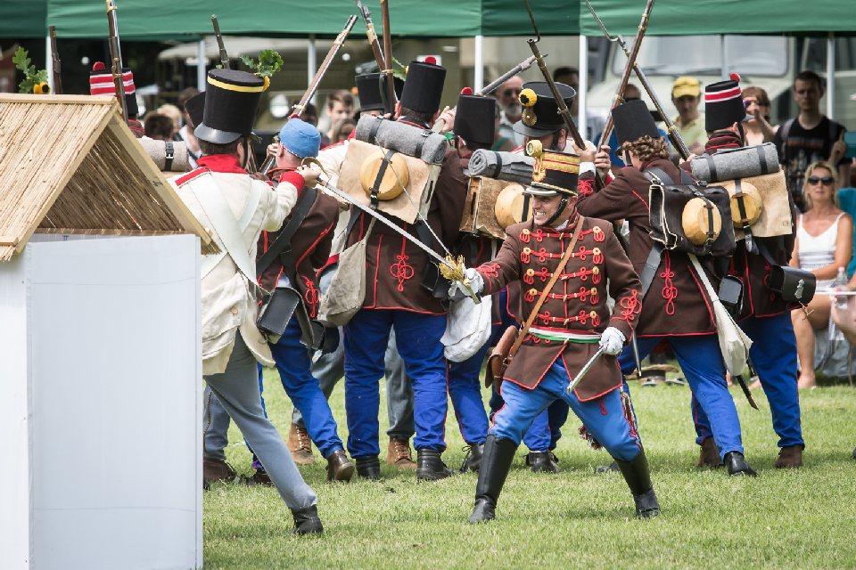 II. Katonai Hagyományőrző Fesztivál - Gerla, Wenckheim-kastélypark - fényképek - 2019.06.29.