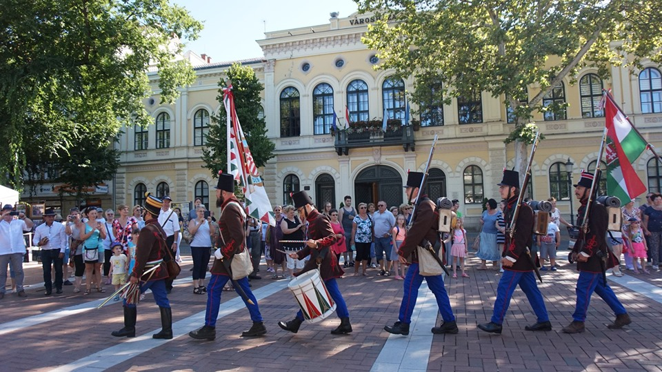 Békéscsaba - Csaba nap - felvonulás, díszelgés - 2019.07.06.