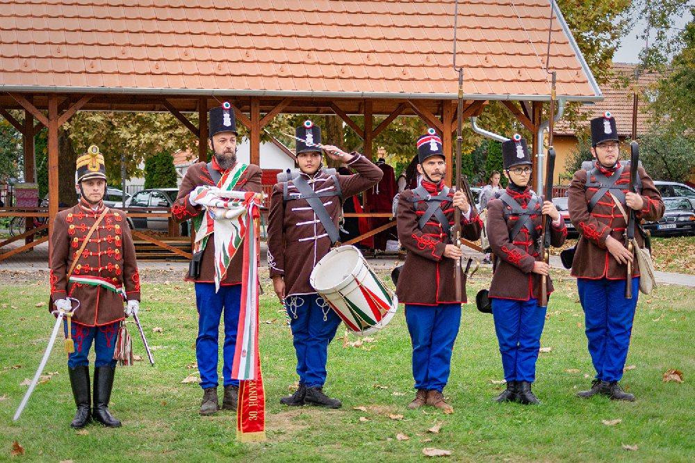 Szabadkígyós -  I.Kígyósi Kulturális Kavalkád - honvéd - gyalogsági bemutató - 2019.10.05.