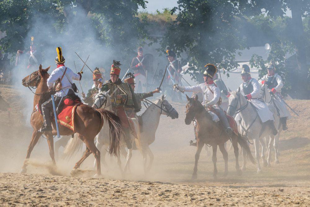 Komárom, Monostori erőd - csatabemutatók az 1848/49-es Erődfeszt hadijátékokon - 2021.07.03-04.