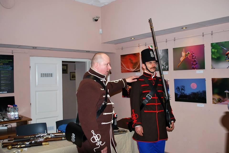 2016. március 15. Munkácsy Múzeum - 1848-49-es viselet és fegyverbemutató