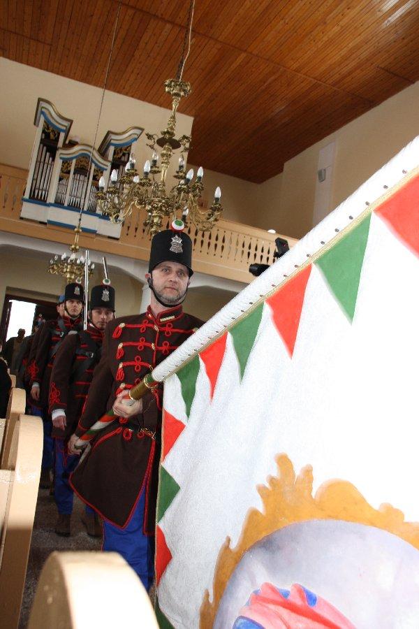 Csabacsűd ünnepség és zászlószentelés 2013.03.15. 009