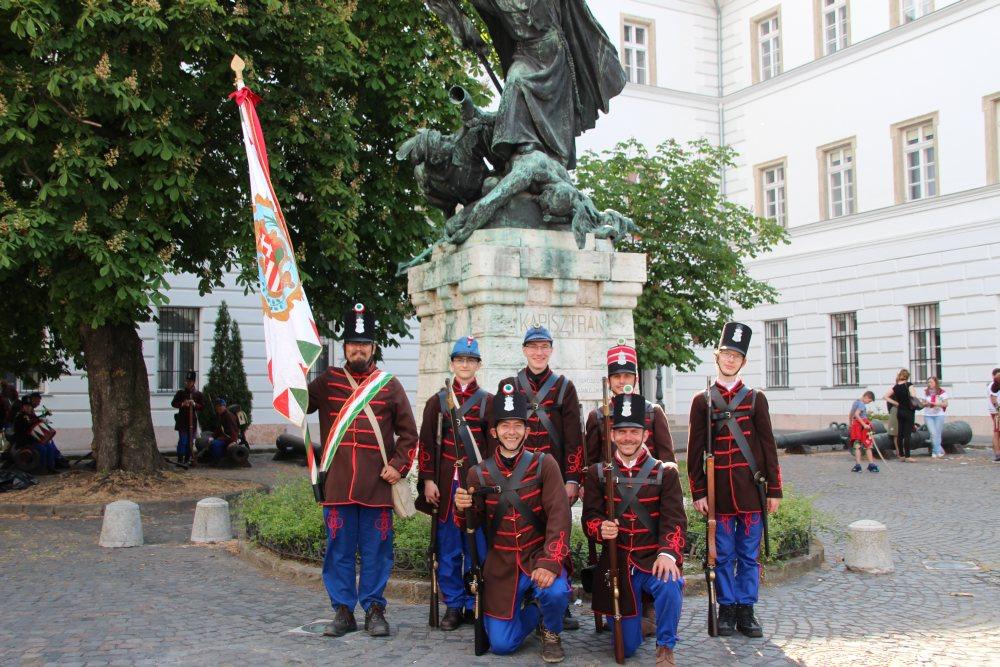 Budapest - Budavári csatabemutató 2017.05.21