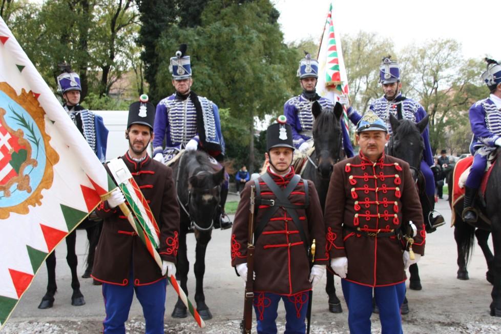 Zászlóavatás - Kisújszállás 2013.november 15.