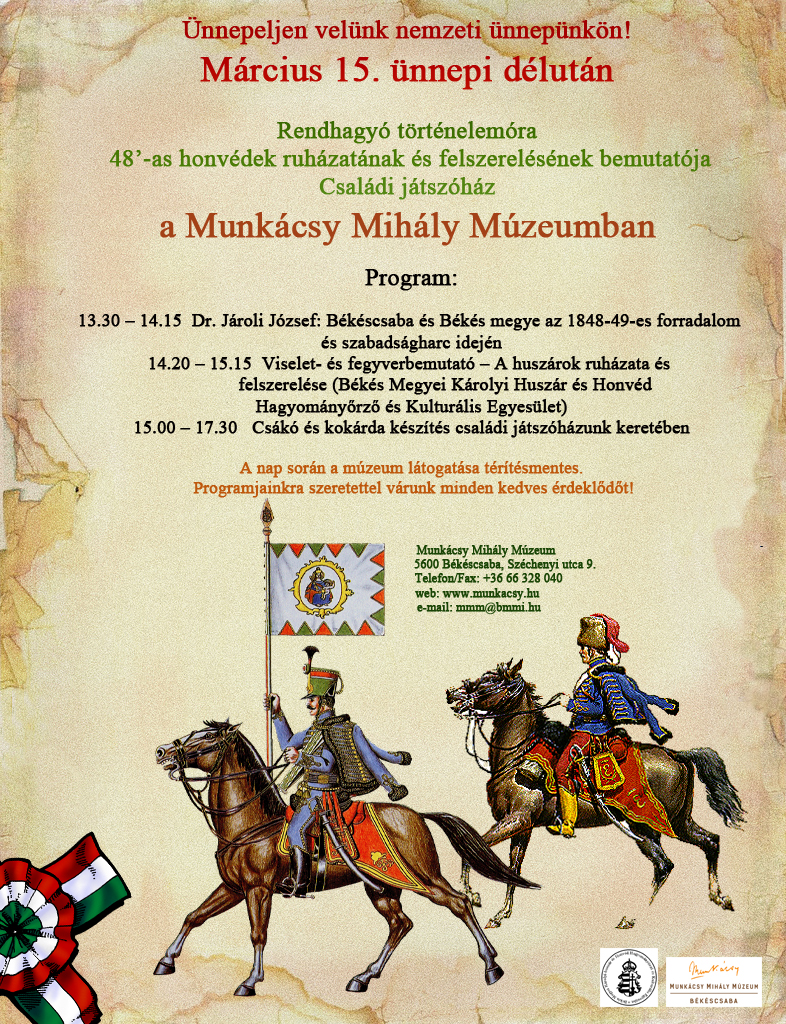 Munkácsy Múzeum plakát